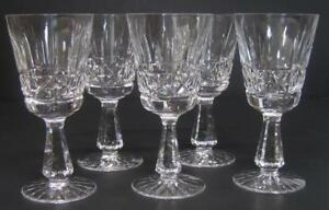 5-Waterford-Crystal-CLARET-WINE-GLASSES-Kylemore-Stems-6-034
