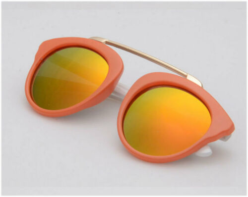 pilot Retro Anti-UV400 Goggles Sunglasses Stylish Boys Girls Kids Children