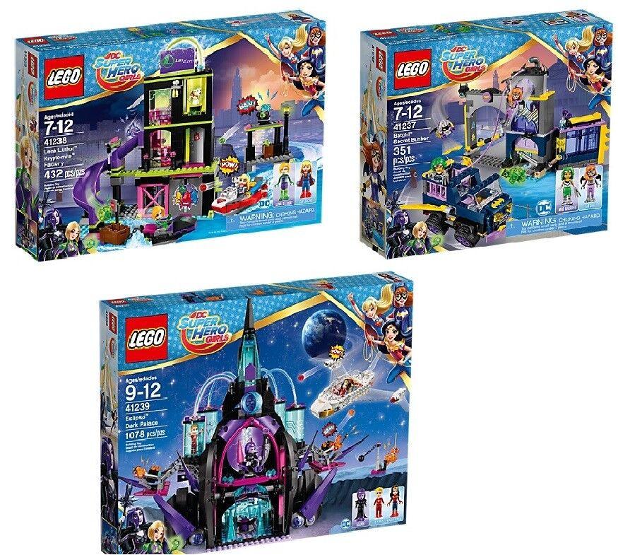 LEGO® (41237) DC Super Hero Girls (41237) LEGO® + (41238) + (41239) inkl Versand Neu 70e237