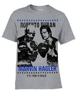 Marvelous Marvin Hagler Boxing Legend Training Gym T-shirt