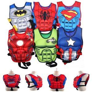 Cartoon-Kid-Sports-Swimming-Floating-Swim-Aid-Vest-Buoyancy-Safety-Life-Jacket