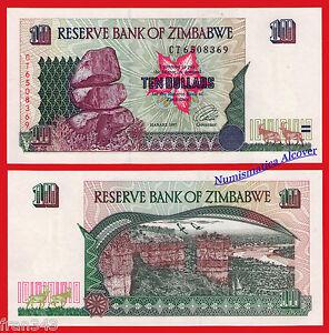 ZIMBABWE-10-dollars-dolares-1997-Pick-6-SC-UNC