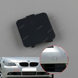 ABSCHLEPPHAKEN lackiert SILBER blende front Stoßstange BMW 5 E60 E61 2007