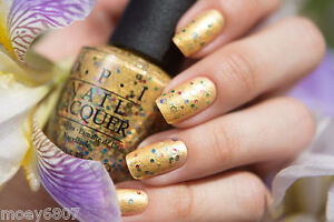 OPI-PINEAPPLES-HAVE-PEELINGS-TOO-Yellow-Gold-w-Multi-Glitter-Nail-Polish-H76
