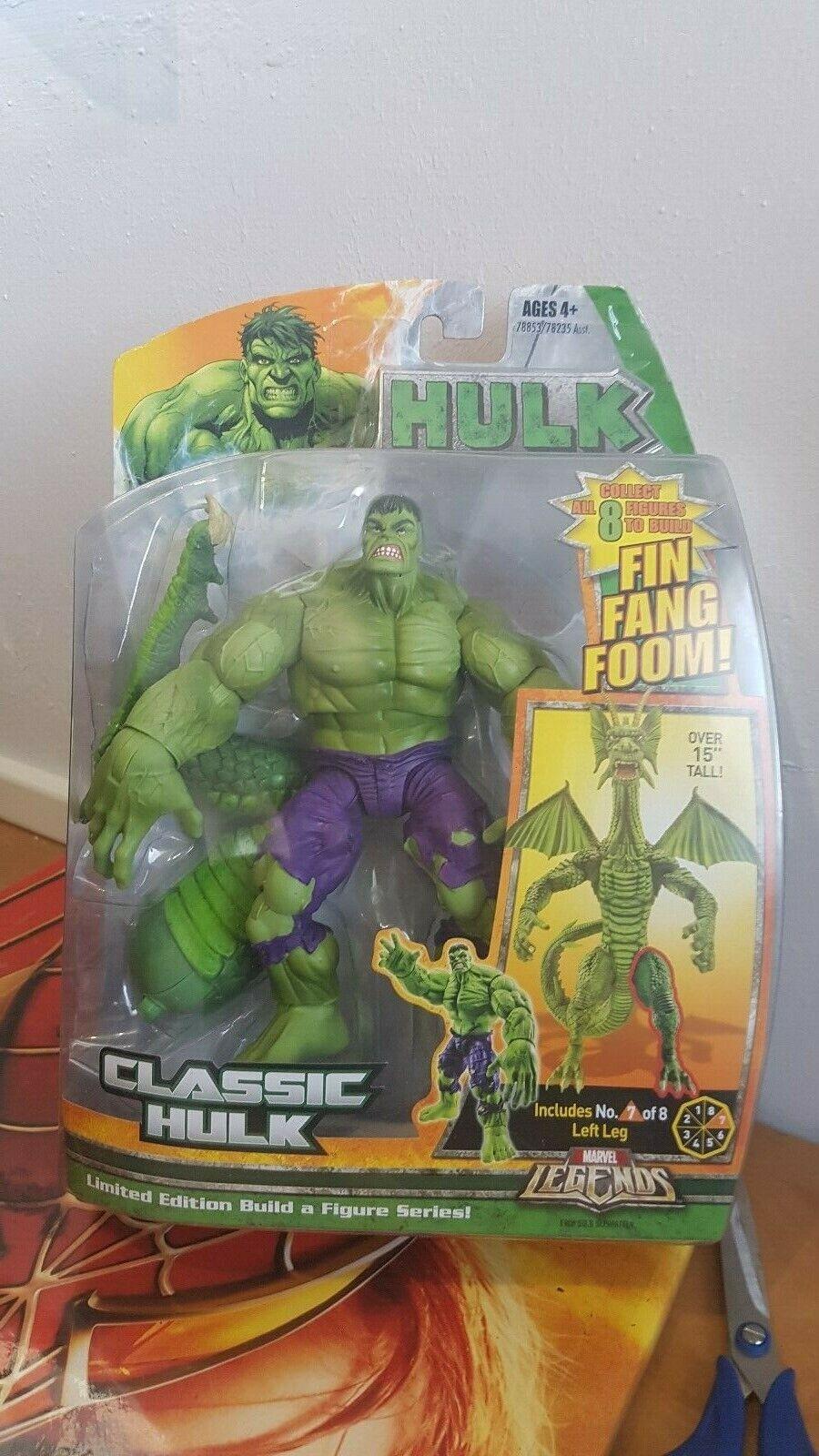 Marvel legends Hulk Fin Fang Foom Series