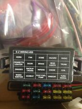 20 Mini Fuses - EZ Wiring Harness Chevy Nova Camaro Impalla Street Hot Rod Wires
