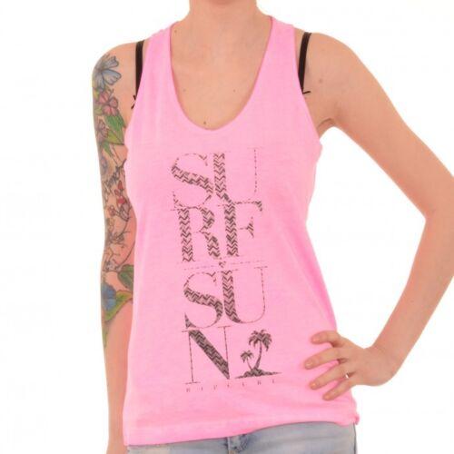 Rip Curl Ginny TankTop Shirt T-Shirt pink rosa GTEAY4