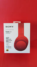 Sony MDR-100ABN h.ear on Wireless/Wired Headphones- Red- Pre Owned- Boxed