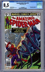 Amazing Spider-Man #191 CGC 8.5 (April 1979, Marvel) Smythe & Spider-Slayer App.