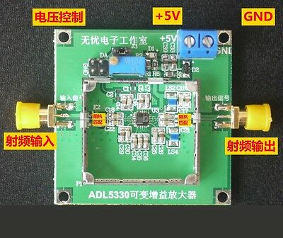 ADL5330 VGA 10MHz~3GHz wideband gain control RF power amplifiers -34DB TO 22DB