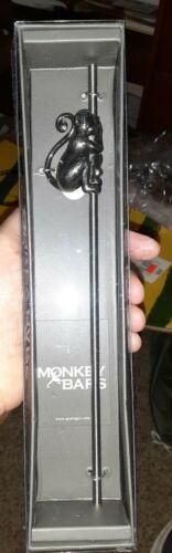 Details about  /Godinger 84413 Monkey Bar Drinking Straw new metal