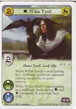 3 x Willas Tyrell AGoT LCG 1.0 Game of Thrones Valar Morghulis 9