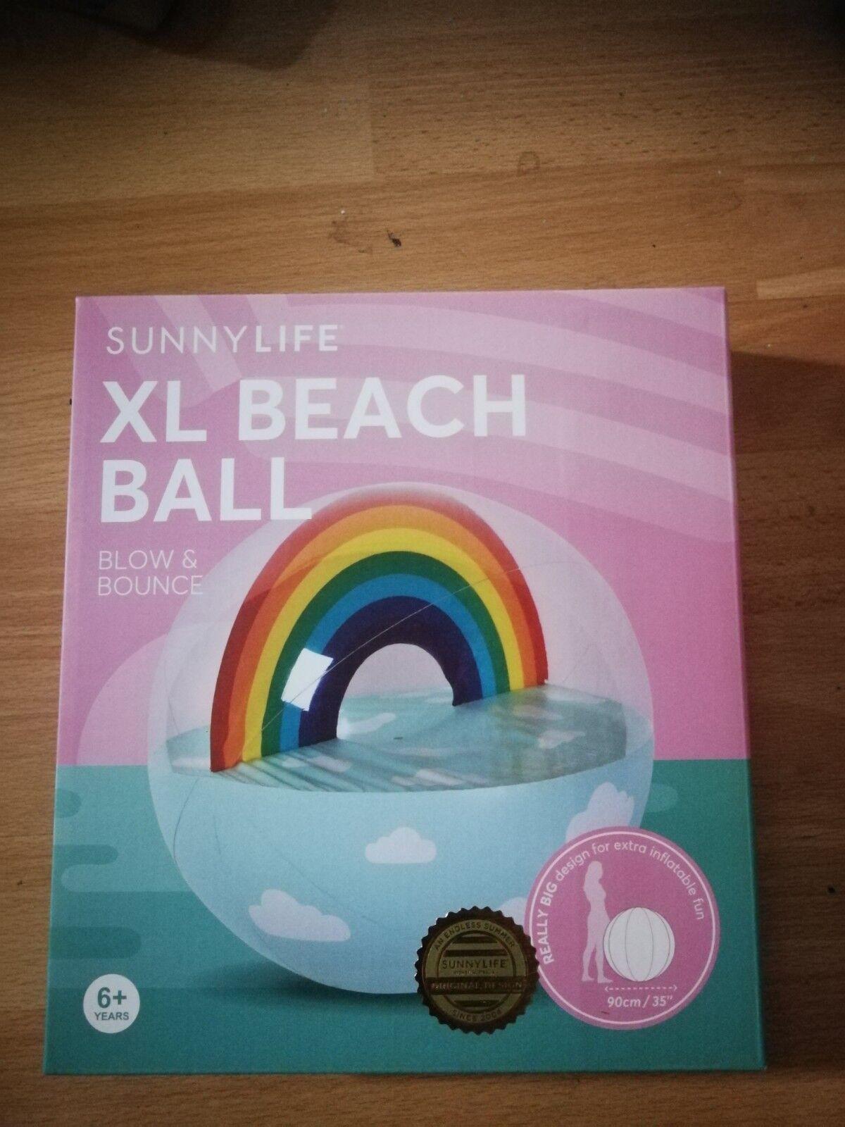 Big   jumbo  großer Wasserball Beachball Strandball   NEU   OVP