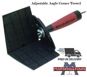 Marshalltown-Adjustable-90-Degree-Plasterers-Inside-Angle-Corner-Trowel-EA917
