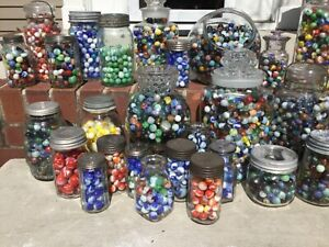 Antique-to-Recent-Marble-Lot-Shooter-More-BAGS-OF-50