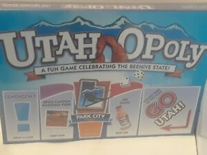 UTAH-OPOLY-BRAND-NEW-BOARD-GAME