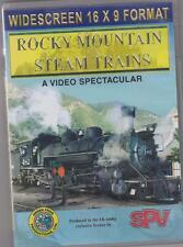 Rocky Mountain Steam Trains (DVD) SPV ~ Railway DVD ~ US Railways / Railroads