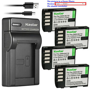 Kastar-Battery-Slim-USB-Charger-for-Panasonic-DMW-BLF19-BLF19E-amp-Lumix-DMC-GH3GK