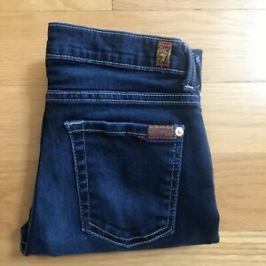 Seven-7-for-All-Mankind-Womens-Jeans-The-Skinny-Size-14-Juniors-24-x-26-159-00
