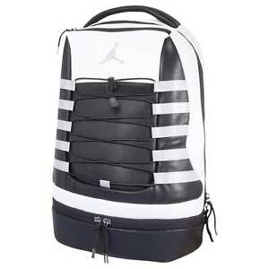5c8105772270 Nike Air Jordan Retro X 10 Backpack White Black Wolf Steel Grey Cool ...