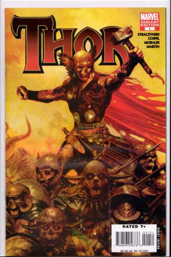 MARVEL ZOMBIES VARIANT COMIC BOOK ~ Marvel Comics THOR #1