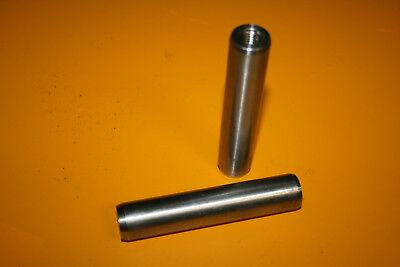 Befestigungsteile & Eisenwaren c 20m6x100mm HüBsch Und Bunt 2 Stück Zylinderstifte Mit Auszugsgewinde Din 7979