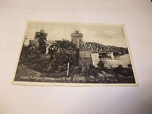 alte-Postkarte-Ansichtskarte-Karte-Mainz-Eisenbahnbruecke-vor-1945