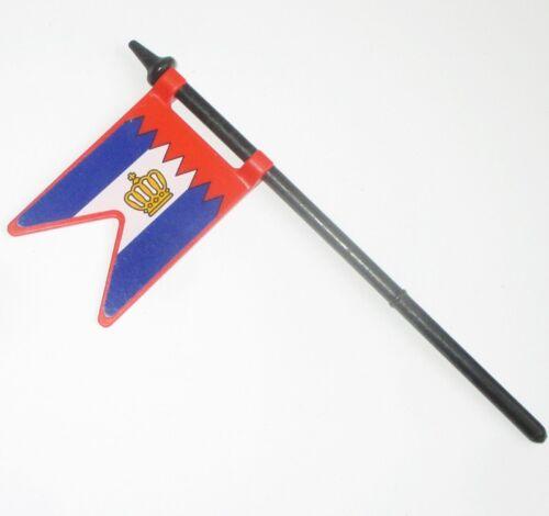 Playmobil FAHNE Flagge Rotrock Hafenwache  3795 Ersatzteil Zubehör Garde Piraten
