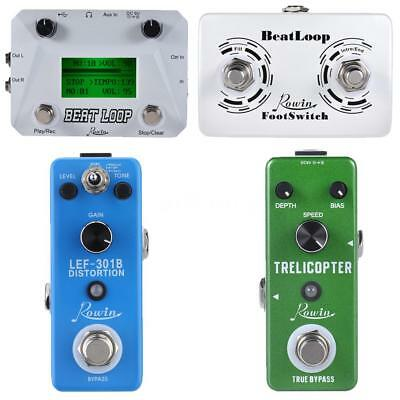 rowin guitar effect pedal looper loop recording tremolo distortion 5 kinds x0p2 ebay. Black Bedroom Furniture Sets. Home Design Ideas