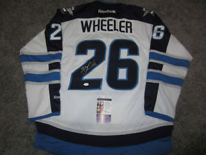 313866d7b Image is loading BLAKE-WHEELER-Winnipeg-Jets-SIGNED-Autographed-JERSEY-w-