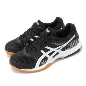 Asics Gel-Rocket 8 Black White Gum Men Volleyball Shoes Sneakers B706Y-012
