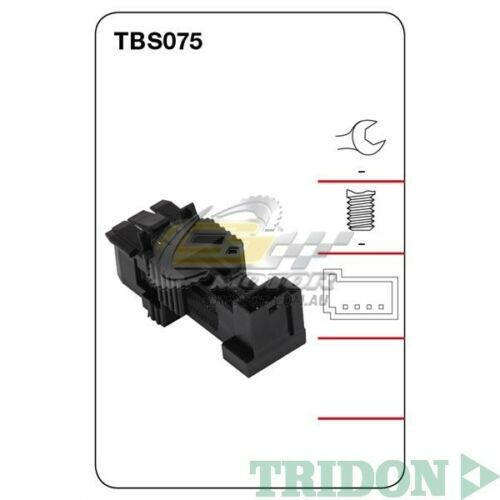 TRIDON STOP LIGHT SWITCH FOR BMW 760i 01090613 6.0LN74B60 DOHC 48VPetrol