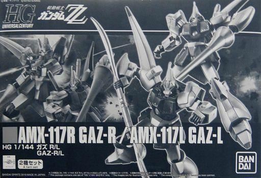 Bandai Hguc 1 144 Amx-117r Gaz-R   Gaz-L Set Kit Modello Gundam Zz Nuovo
