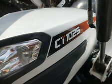 Bobcat Ct1025 Compact Tractor Fl7 Front End Loaderbackhoe 4x4 Hydro 245 Hp