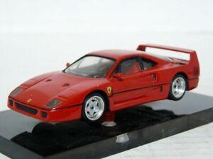Miniland-1-1-43-1987-Ferrari-F40-Le-Mans-Handmade-White-Metal-Model-Car