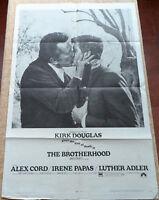 The Brotherhood movie poster, folded, original, One Sheet, 1968, Kirk Douglas
