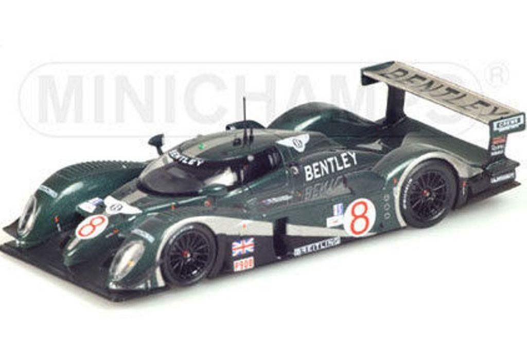 MINICHAMPS 031398 Bentley EXP Speed 8 diecast model race car Sebring 2003 1 43rd