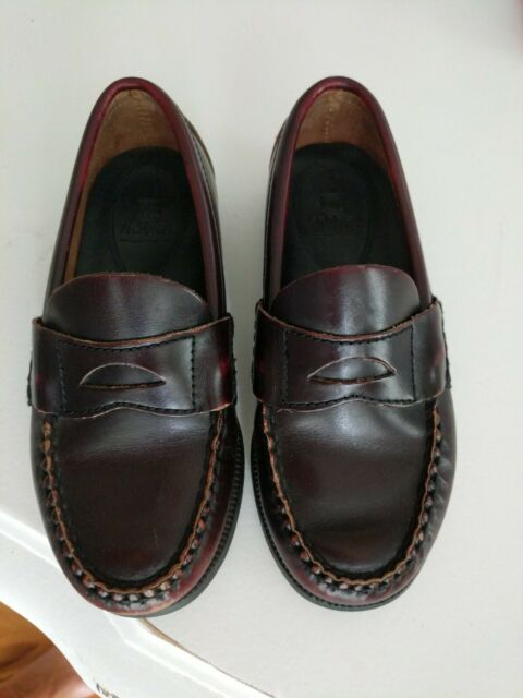 Sperry Top-Sider Colton Kids Burgundy Dress Shoes Penny ...
