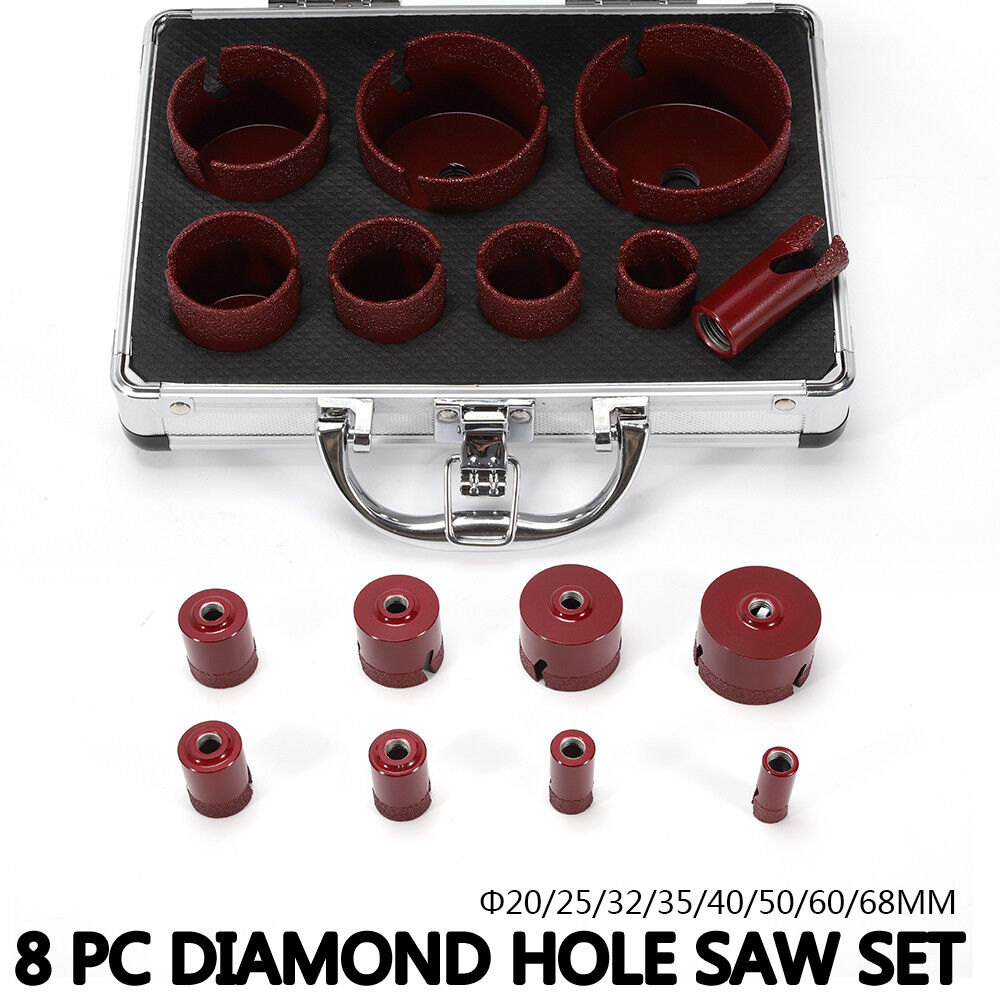 Taladro de diamante Taladro M14 Taladro de Blauejo 20-68mm Amoladora de ángulo