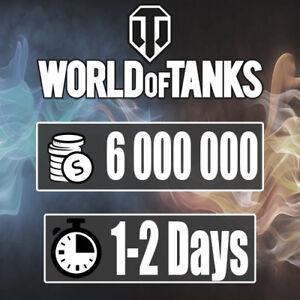 Details about World Of Tanks 6mln silver EU NA RU WoT (Not Bonus Code)(PC)