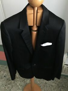 Mens Dior 40 Tuxedo Black Monsieur Used Vgc dinner Blazer Christian Chest EpwdqH8E