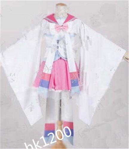 Hot NEW Anime Pokemon Sylveon Cosplay Costume Girl Dress in Stock