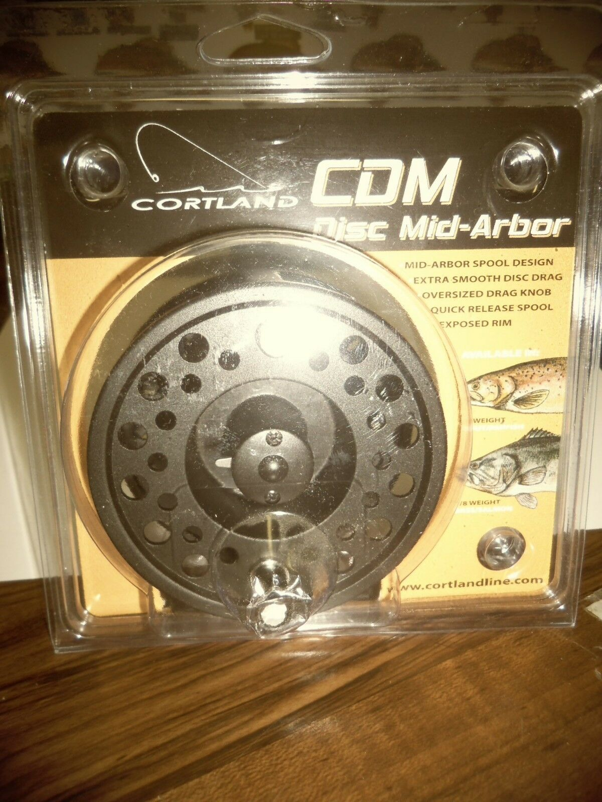 CORTLAND FLY FISHING REEL STK 8 WEIGHT CDM DISC MID-ARBOR  NEW