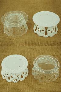 Clear Plastic Cake Stand Ebay