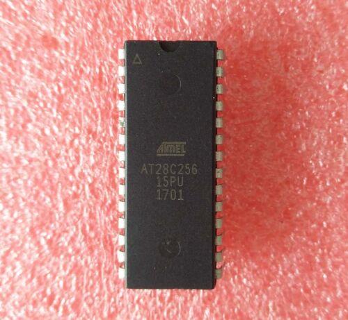 5PCS AT28C256-15PU EEPROM IC ATMEL DIP-28