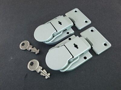 10 pcs Drawbolt Closure Latch For Musical Violin Guitar Case Luggage Lock