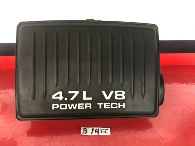 B14 99-04 Jeep Grand Cherokee Air Cleaner Intake Box Power Tech 4.7L 04854011OEM