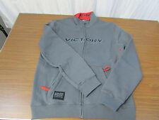 Victory Mens Grey Midway Zip Thru Sweatshirt Size XL