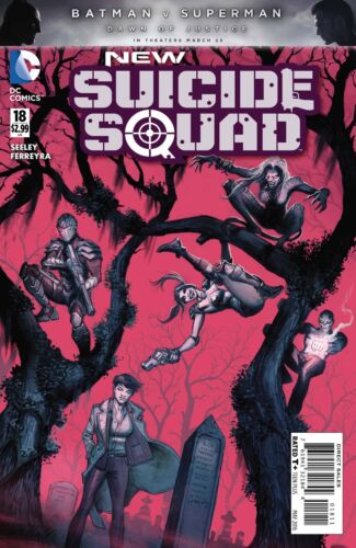 NEW SUICIDE SQUAD #18 MARCH 2016 DC COMIC BOOK HARLEY QUINN DEADSHOT KIA NEW 1
