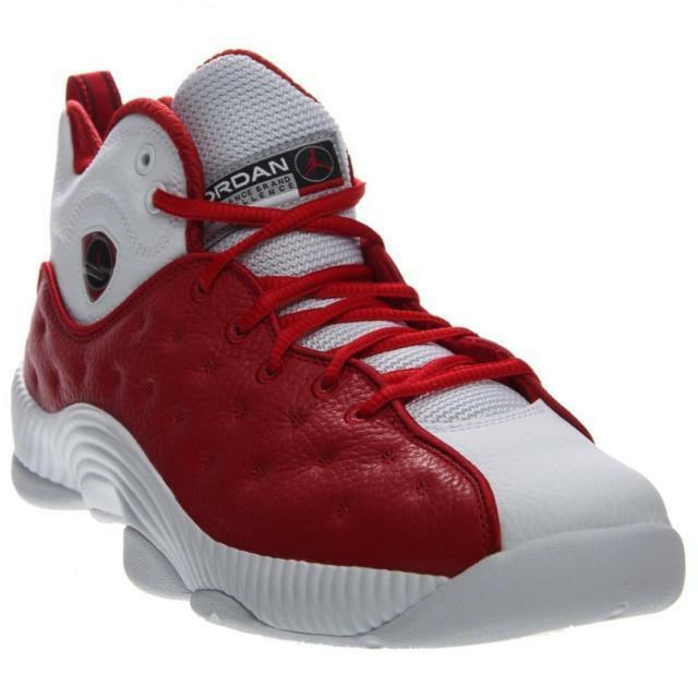 Size 13.5 Nike Men Air Jordan Jumpman Team II 2 shoes 819175 601 Red White Black